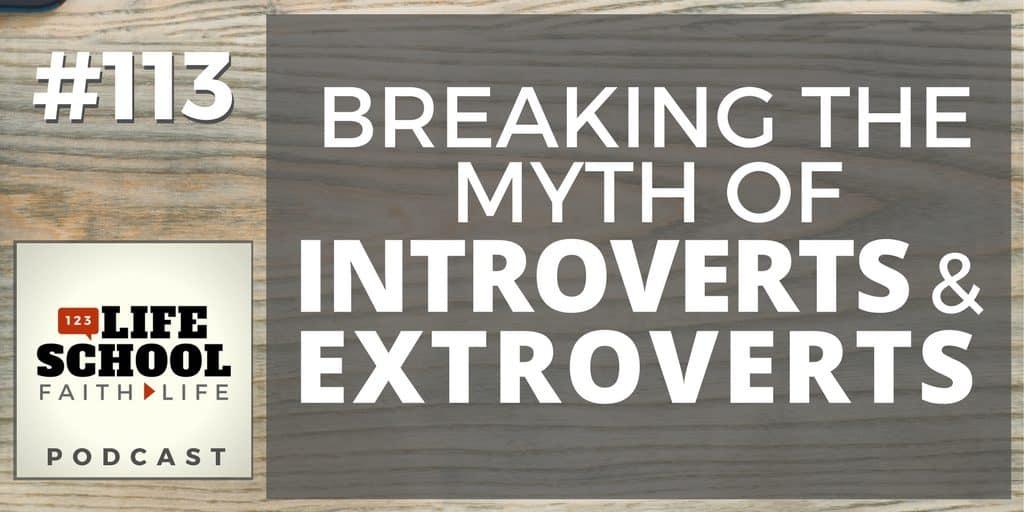 breaking the introvert/extrovert myth