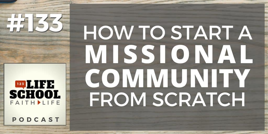 start missional community from scratch