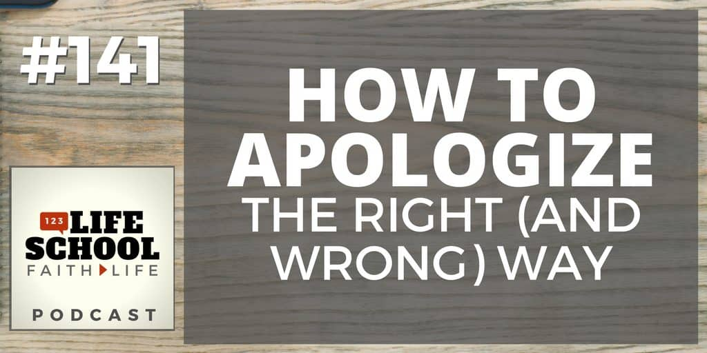 How to Apologize the Right Way