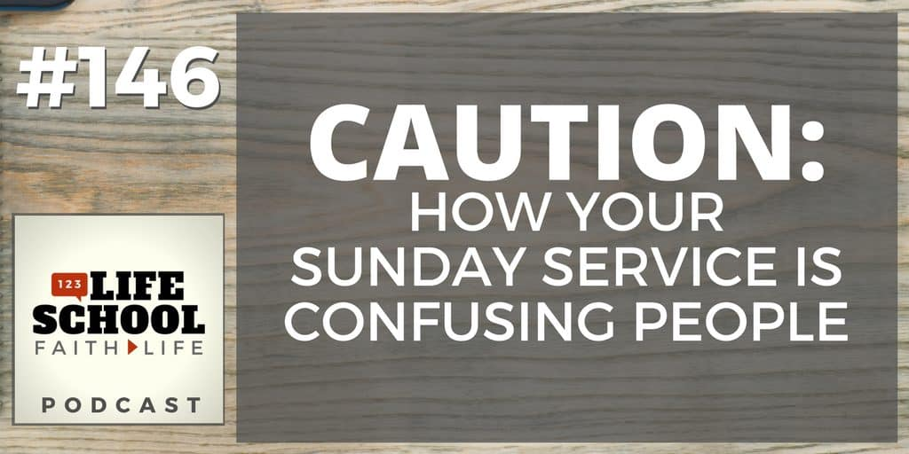 your sunday service is confusing